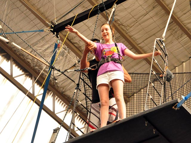 Flying Trapeze Classes Sydney 2 Hour Indoor Classes